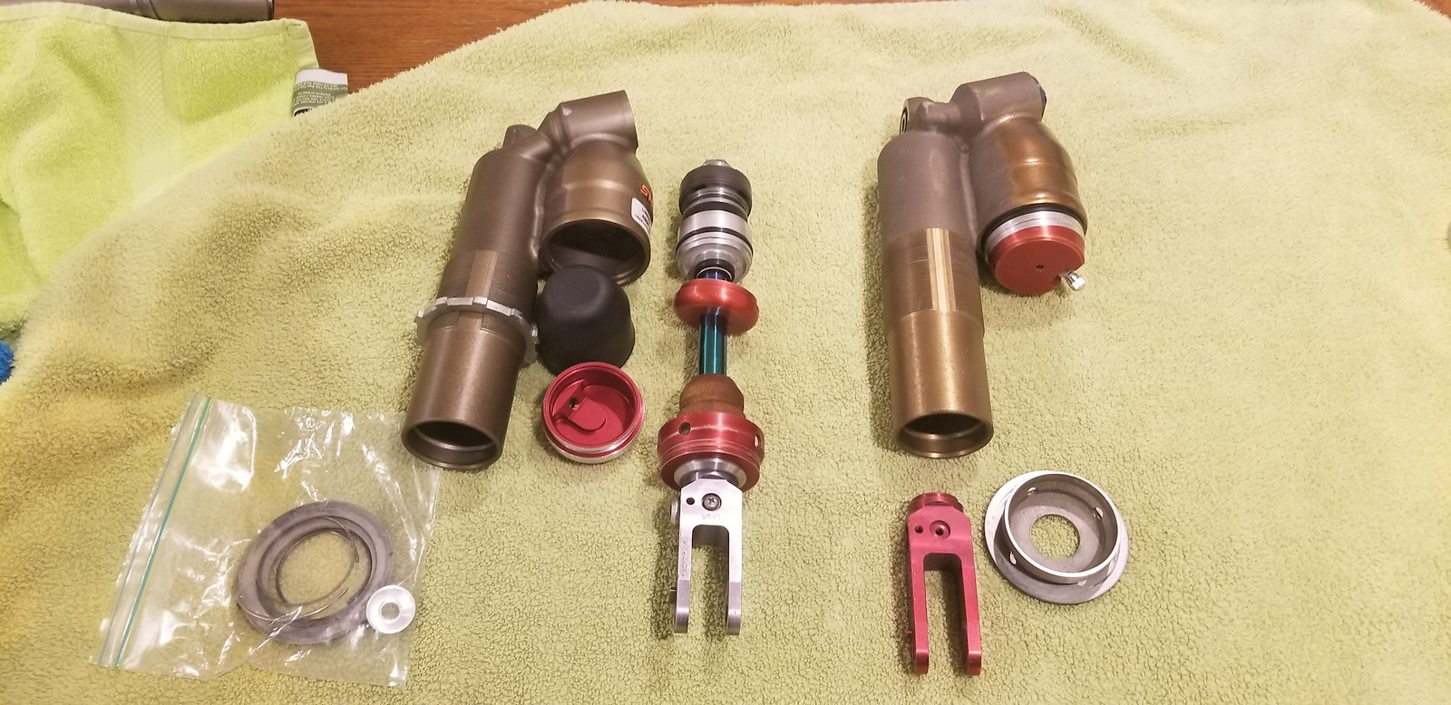 Crf showa A Kit shock 13-16 or 09-12 crf450 or Cr retro fit