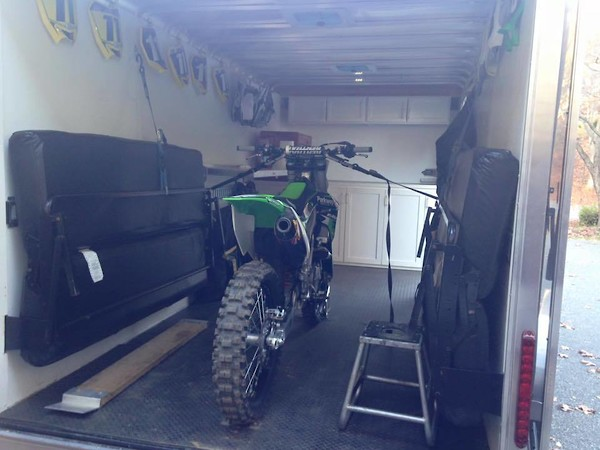 Enclosed trailer build with details and pics - Moto-Related