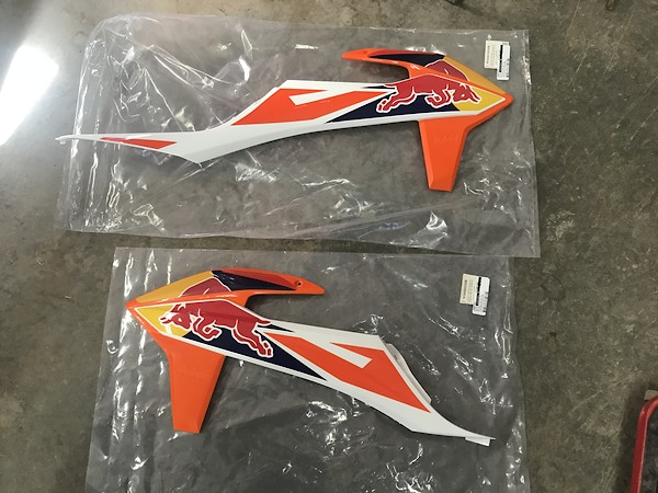 2018 5 factory edition shrouds (sold) - For Sale/Bazaar - Motocross