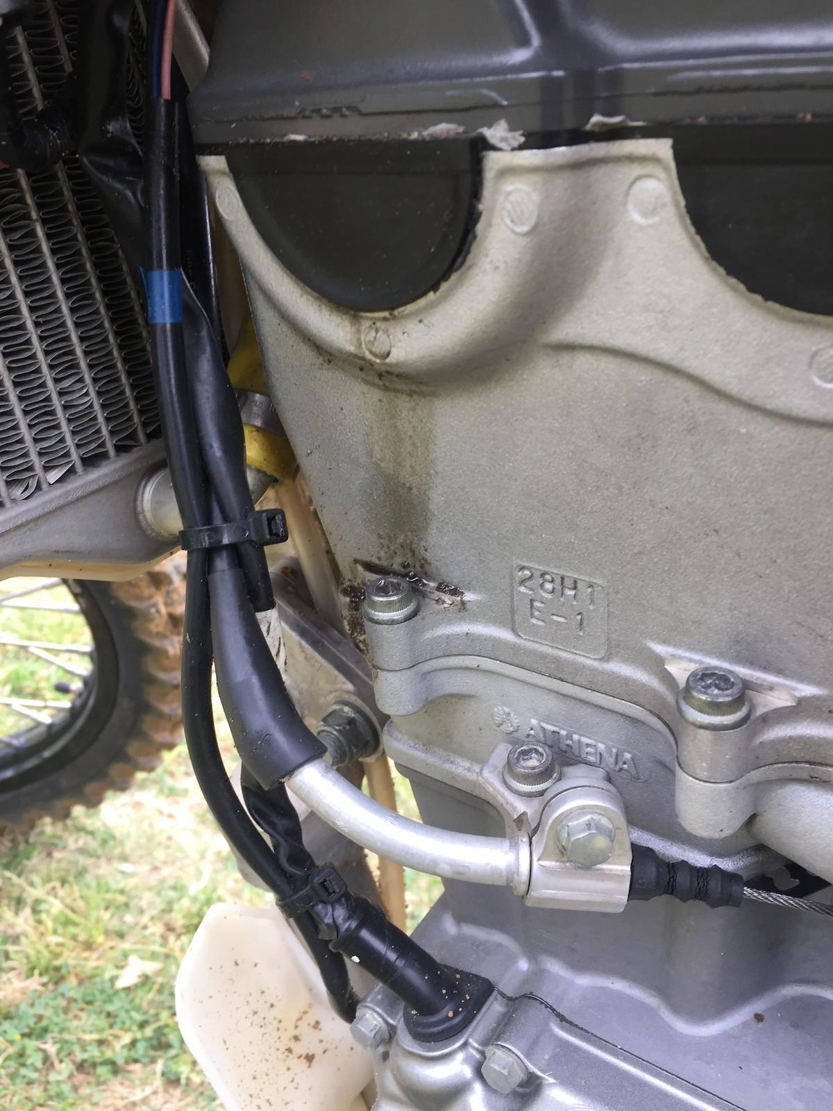 Oil leak? RMZ 450f - Tech Help/Race Shop - Motocross Forums
