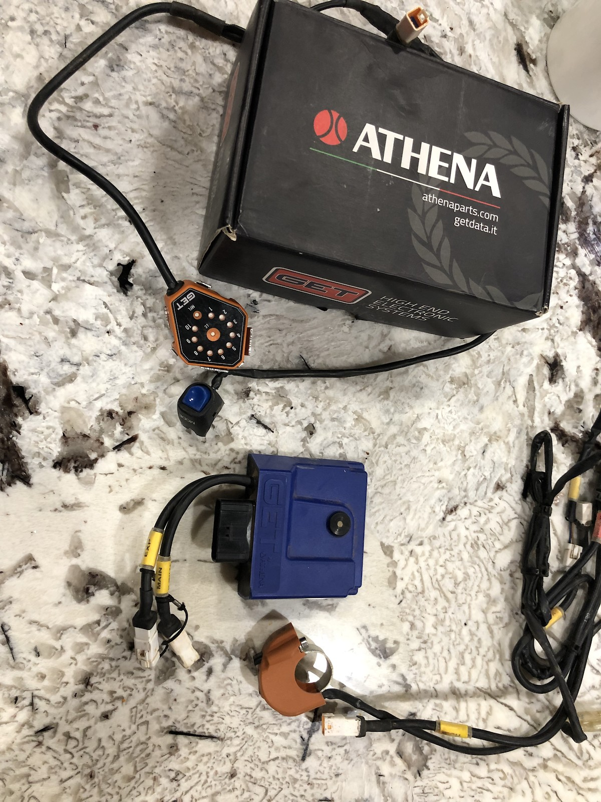 KTM GET ECU w/ GPA, mode and map switch - MAKE OFFER - For