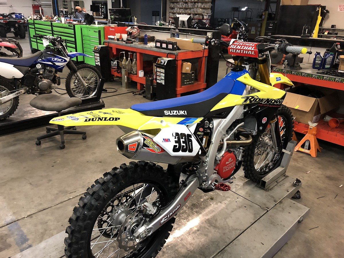 What S Wrong With A 2018 Rmz450 Moto Related Motocross Forums Message Boards Vital Mx