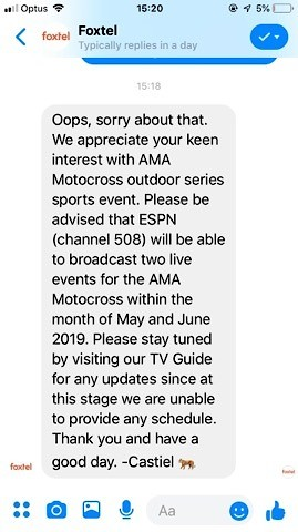 Aussies - How to watch AMA Motocross this year? - Moto
