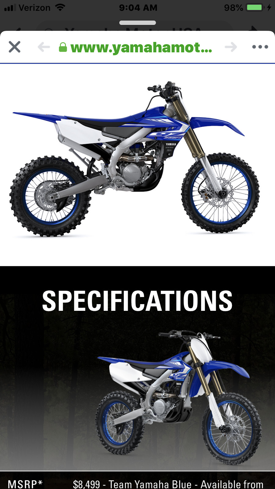 2020 YZ 250 FX - Moto-Related - Motocross Forums / Message