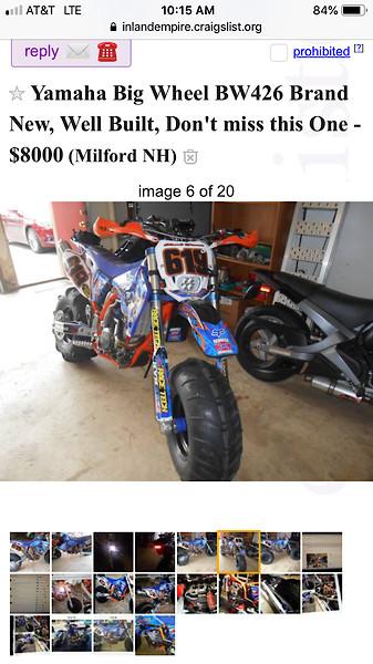 I am horrified (craigslist post) - Moto-Related - Motocross
