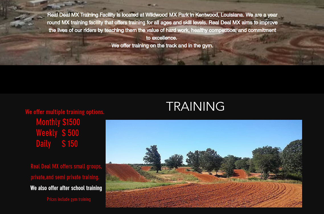 Week At Real Deal Mx Training Facility For Sale Moto Related Motocross Forums Message Boards Vital Mx