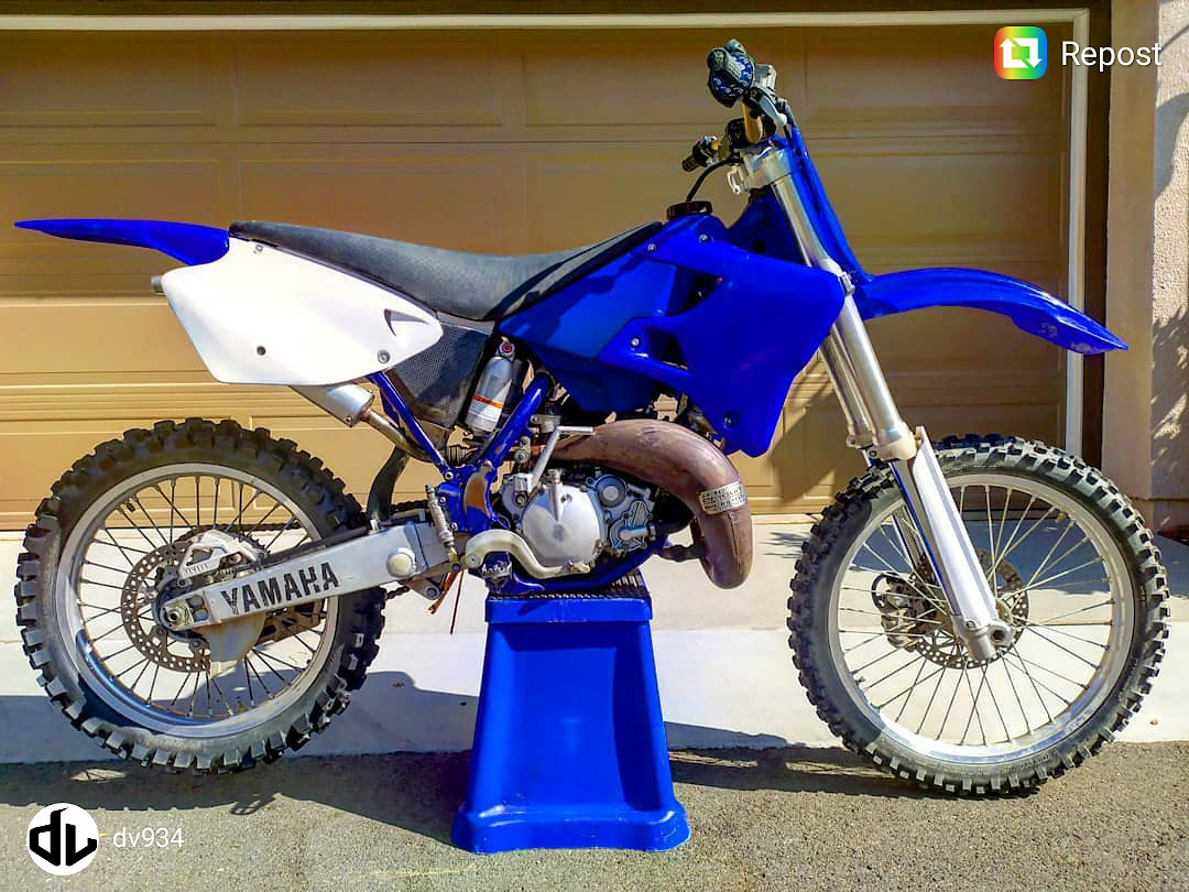 My 2000 Yz125 Dv98 Inspired Build Is Done Updated Bike Builds Motocross Forums Message Boards Vital Mx