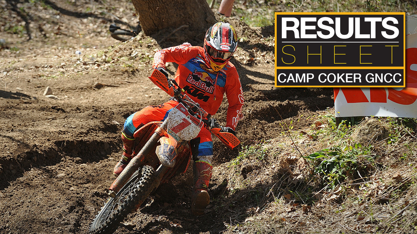 Results Sheet: Camp Coker GNCC