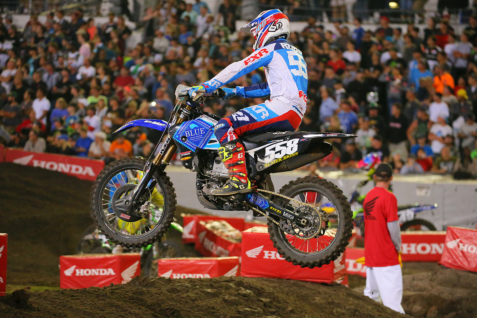 Jerry Robin to Miss Las Vegas Supercross