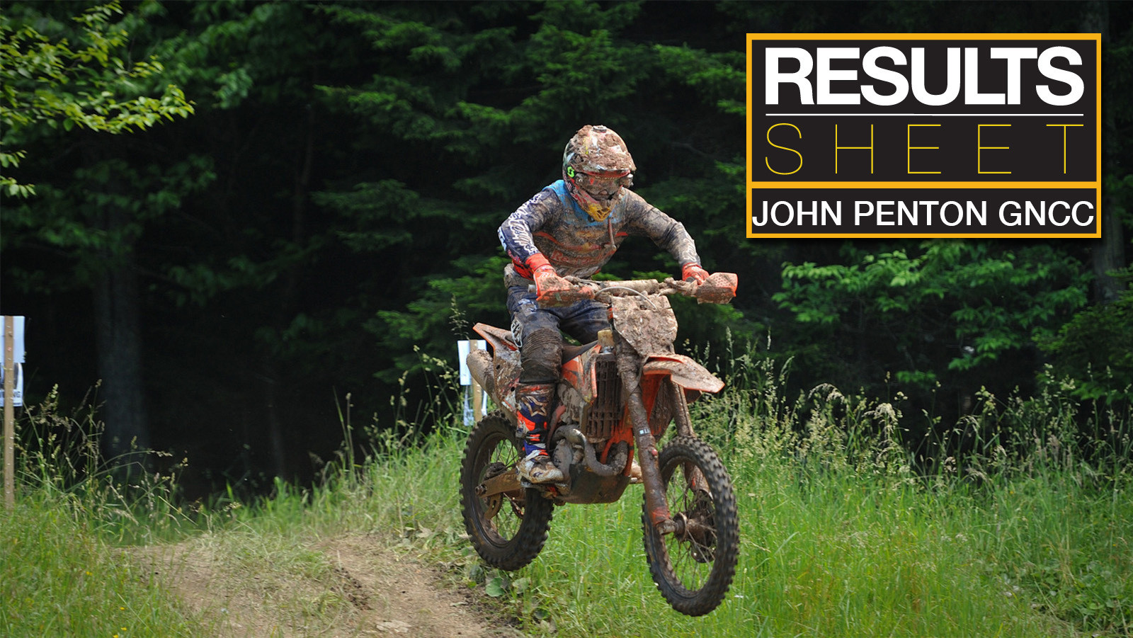 Results Sheet: John Penton GNCC