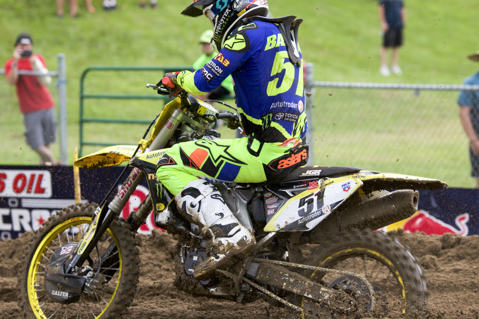 Justin Barcia Out for Unadilla Motocross National