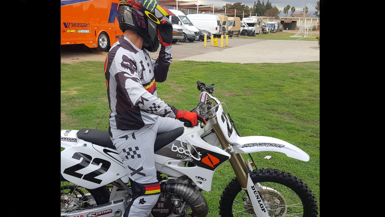 Possible Injury for Chad Reed
