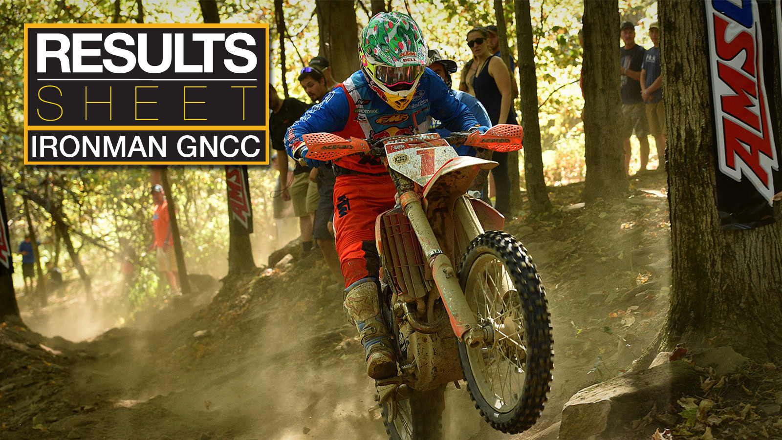 Results Sheet: Ironman GNCC