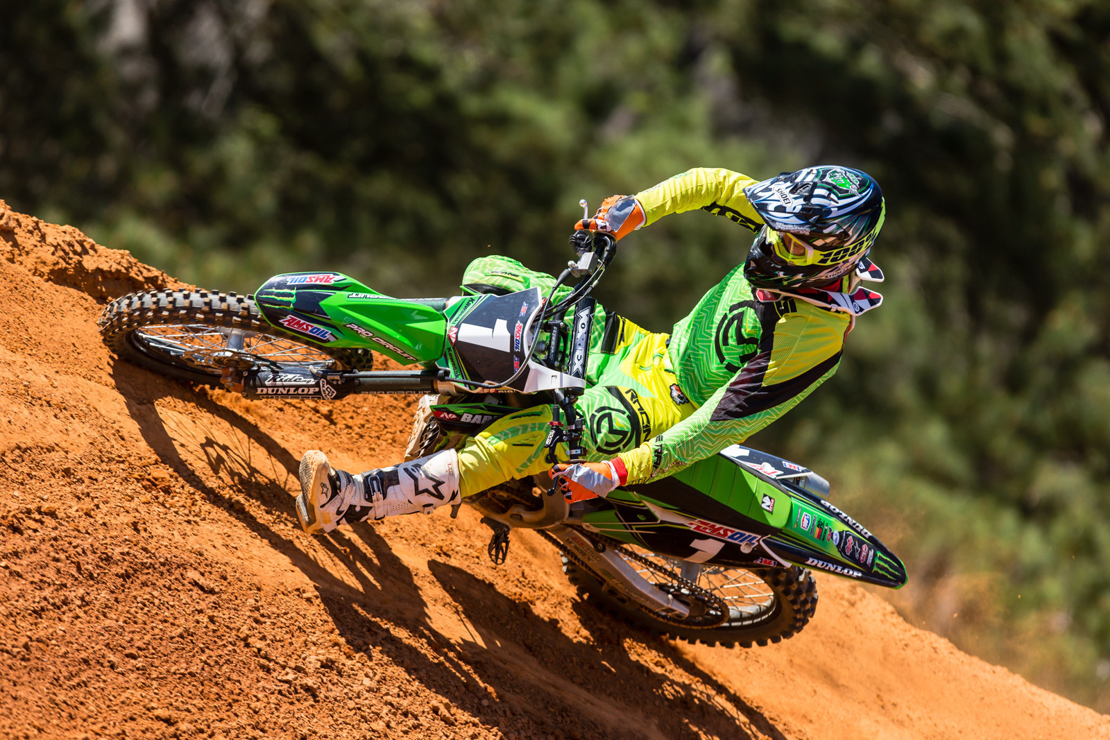 Gavin Faith Signs Contract Extension with Team Babbitt's Monster Energy Kawasaki