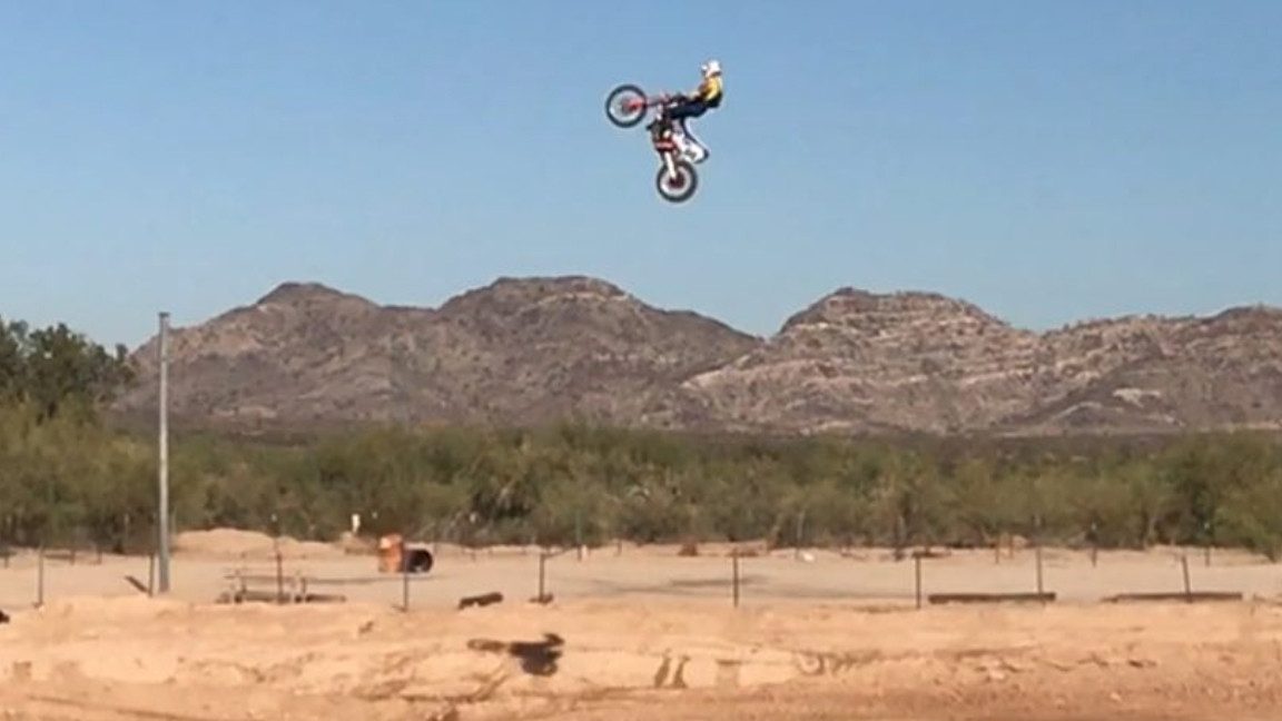 Did Ronnie Mac Jump over 300 Feet Today with Travis Pastrana!?