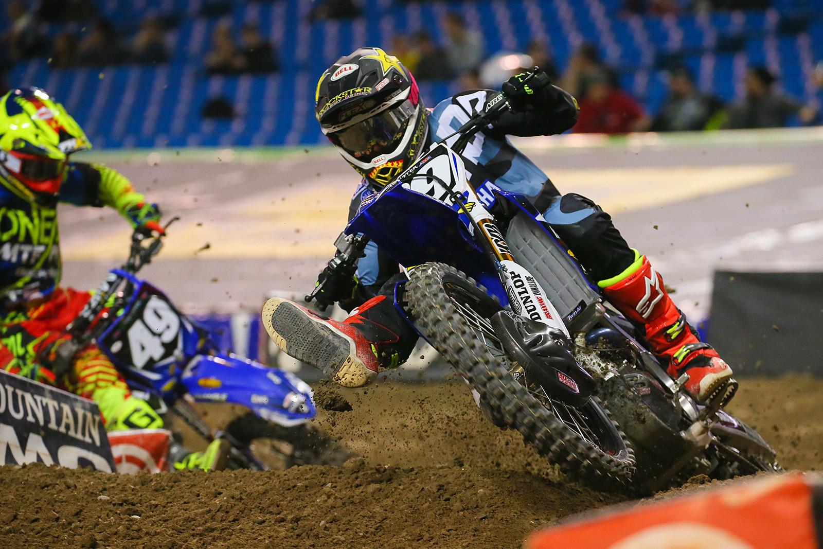 Colt Nichols Breaks Arm in Practice Crash