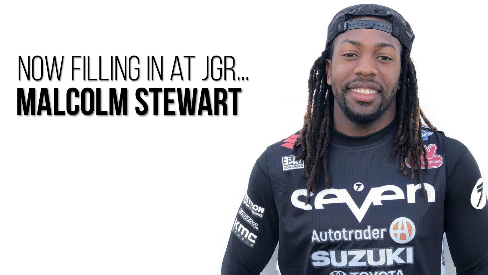 Malcolm Stewart to Fill In for Justin Bogle at AutoTrader.com/Yoshimura/Suzuki?
