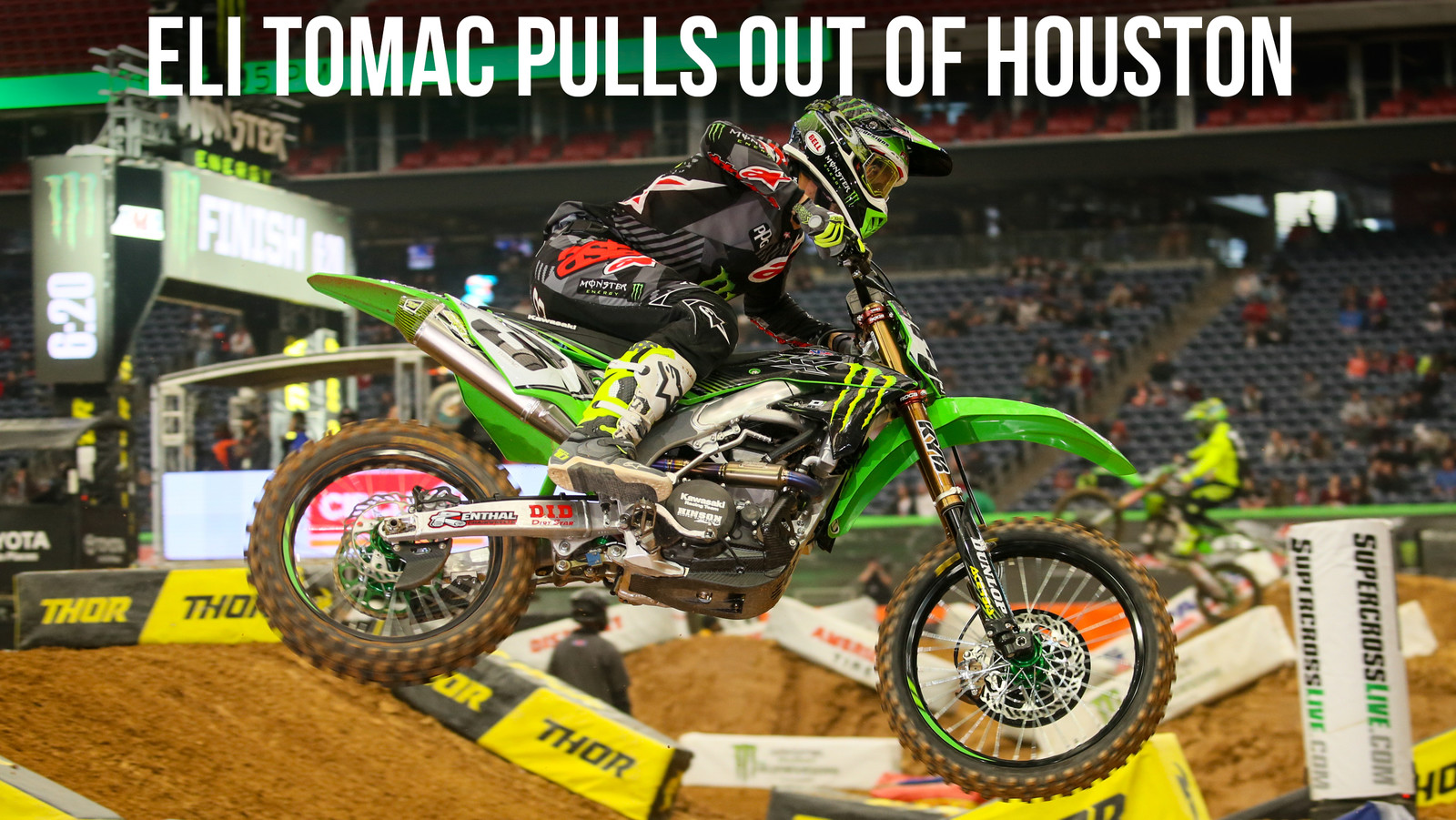 Injury Report: Eli Tomac Pulls out of Houston - Will Not Race