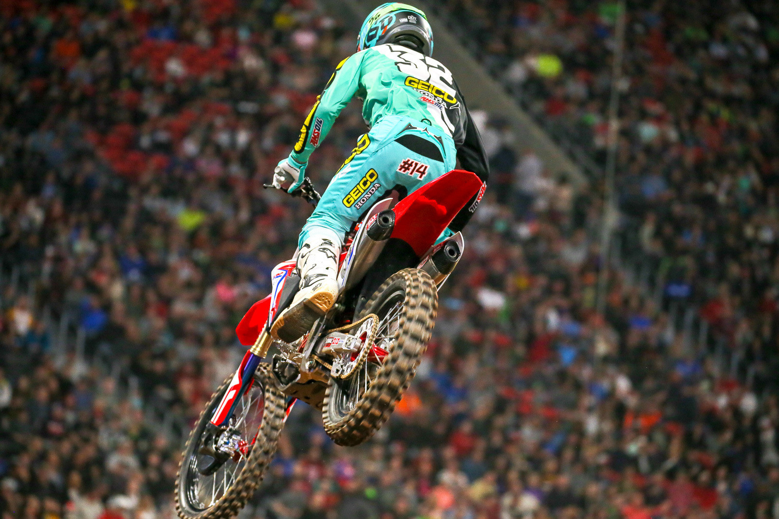 Christian Craig to Fill In at Team Honda HRC for Remainder of Supercross Season