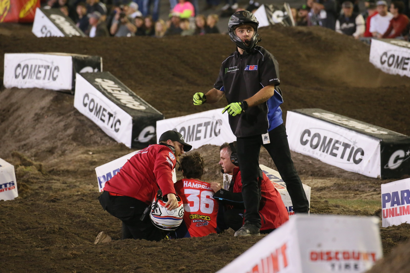 Injury Report: RJ Hampshire - Daytona Supercross