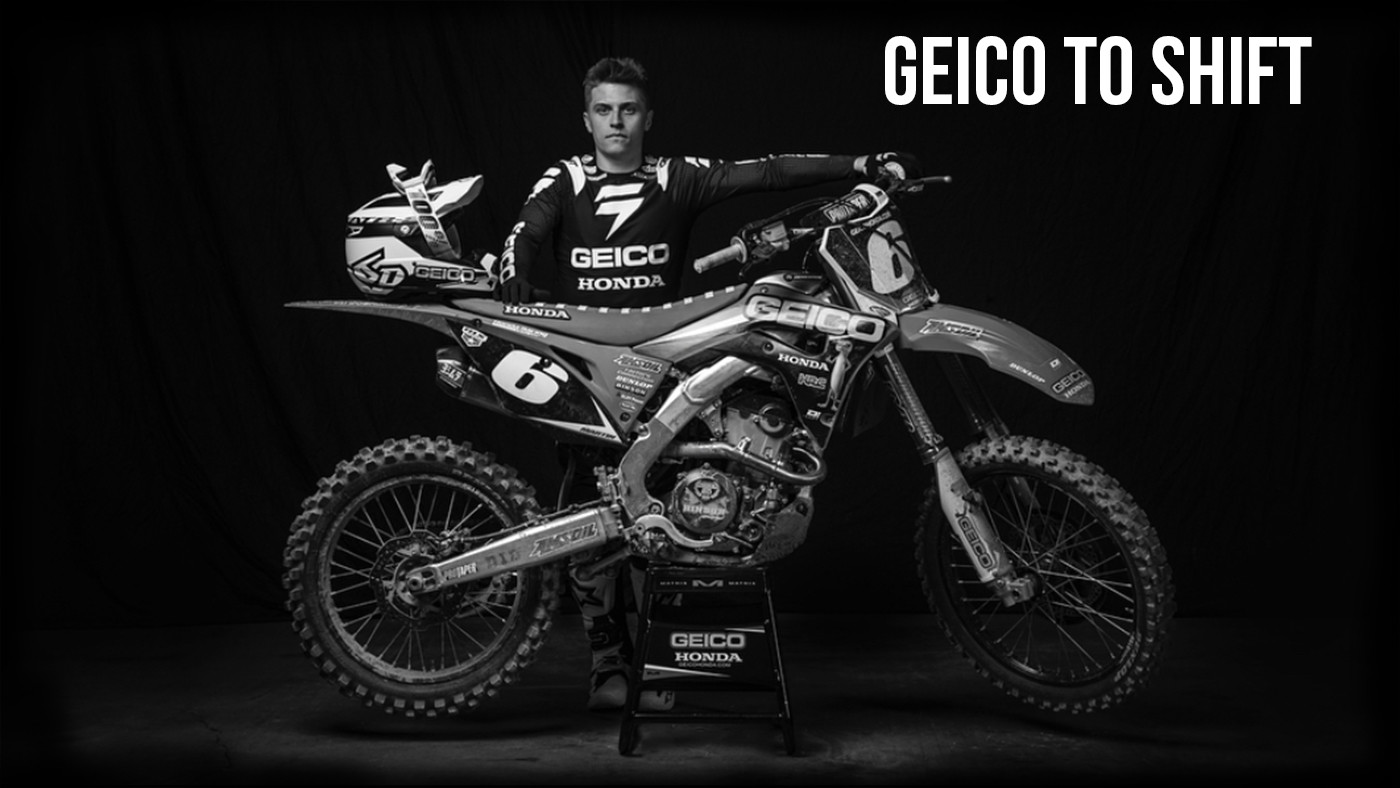 GEICO Honda Partners with Shift MX