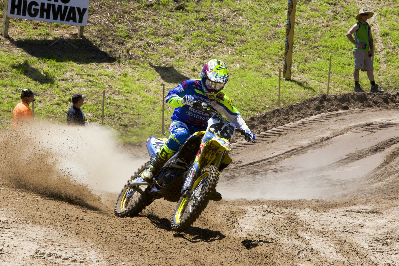 Justin Hill Out for Budds Creek Motocross National