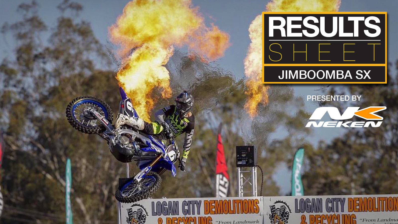 Results Sheet: 2018 Jimboomba Supercross