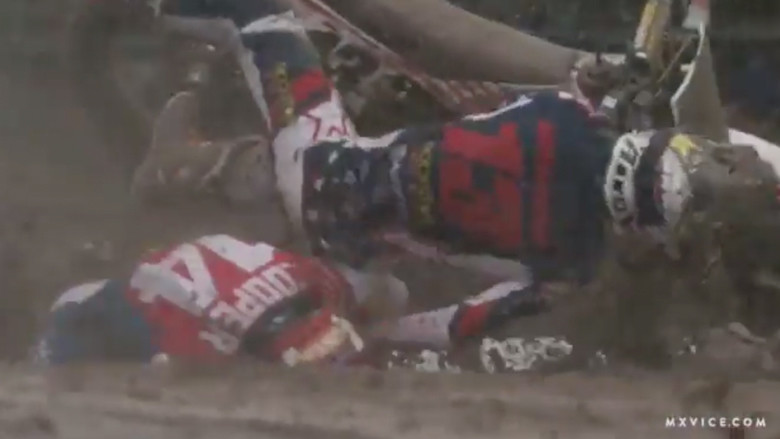Crash: Jason Anderson and Justin Cooper