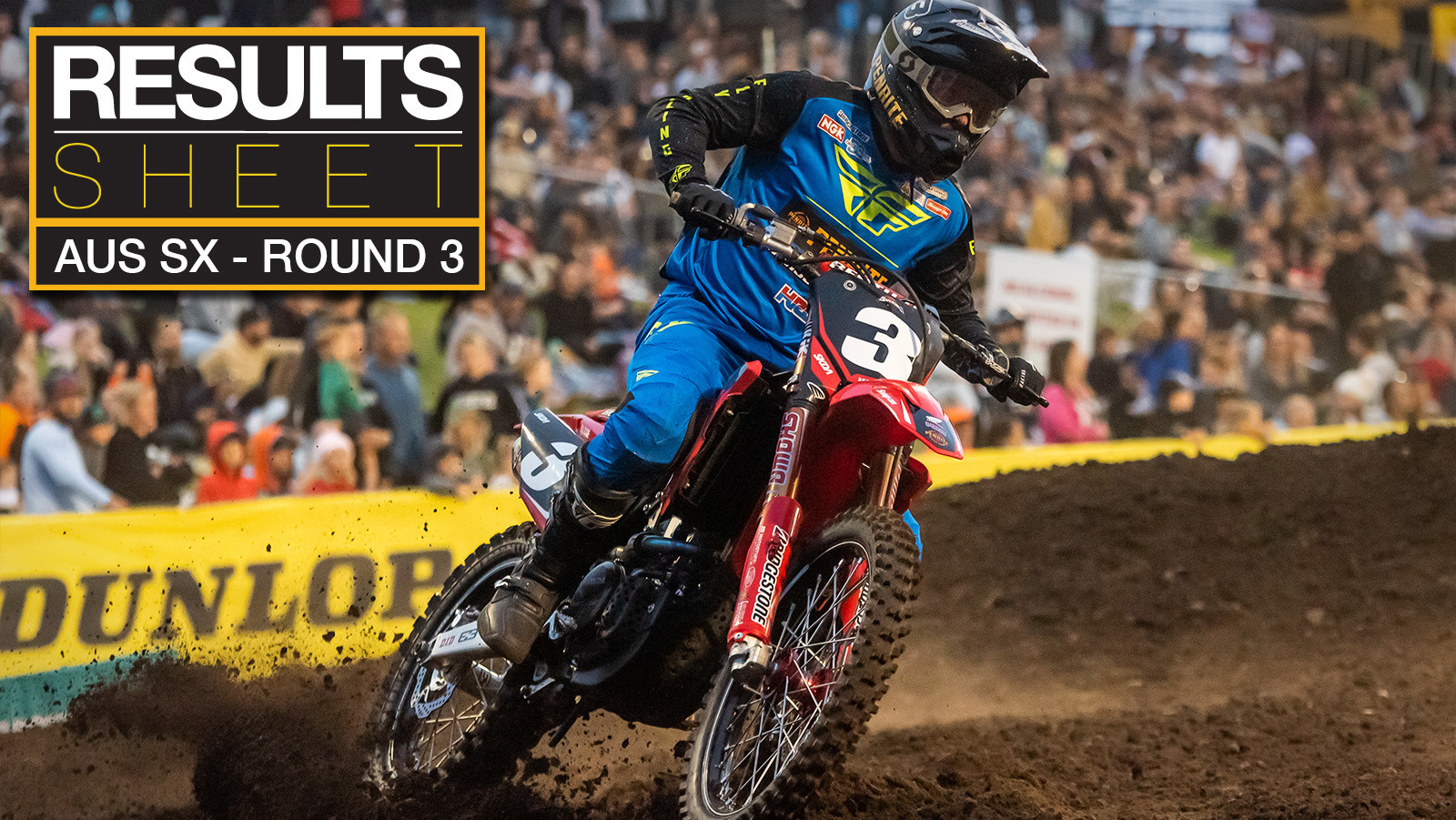 Results Sheet: 2019 Australian Supercross Championship - Round 3