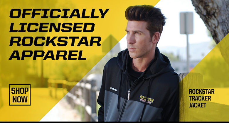 Officially Licensed Rockstar Energy Apparel by Factory Effex