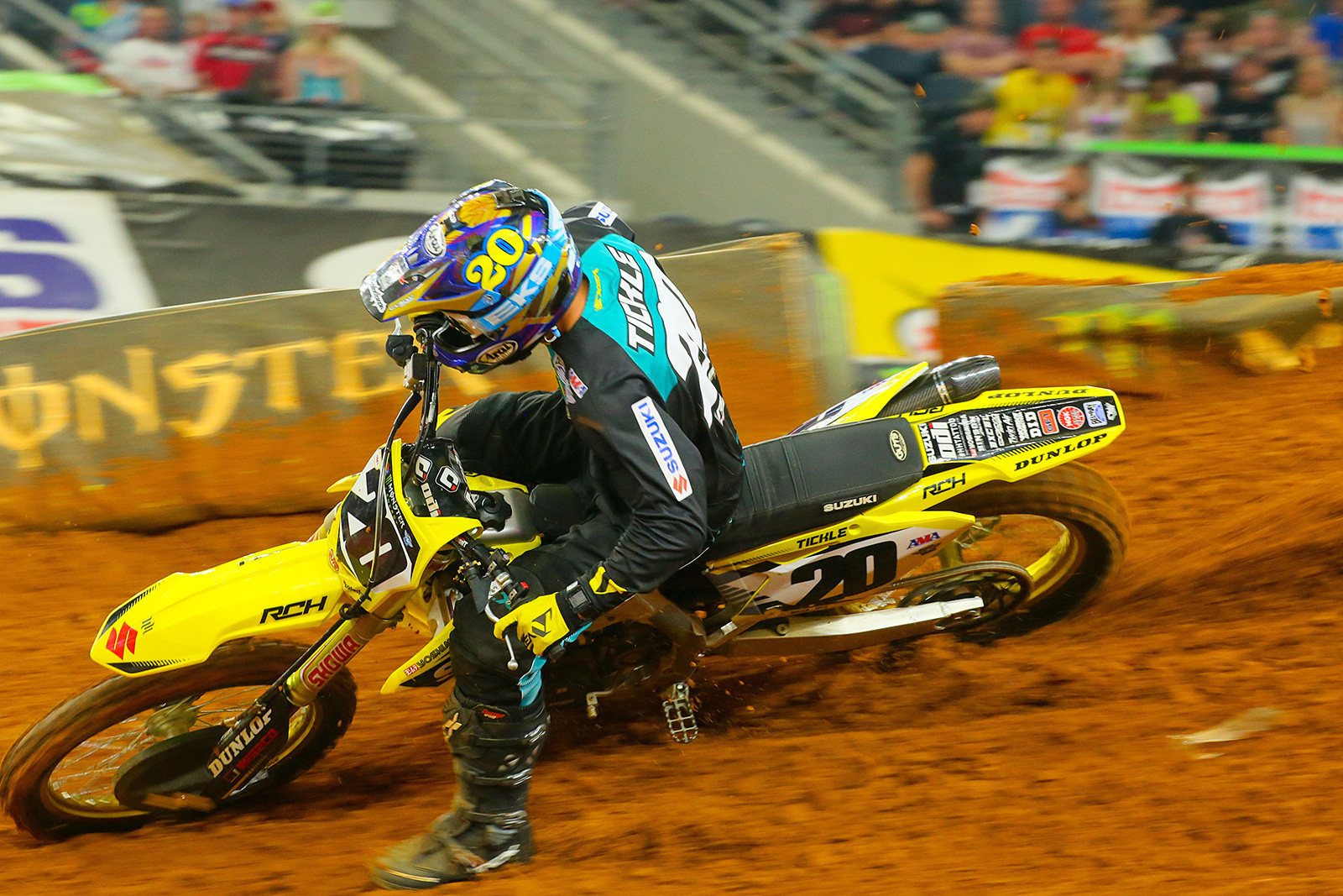 Arlington Career Center >> Broc Tickle to Miss Final Two Rounds of Supercross - Motocross Press Releases - Vital MX