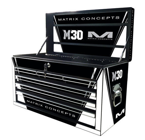 MATRIX CONCEPTS RELEASES ALL NEW M30 FACTORY 6 DRAWER TOOLBOXES