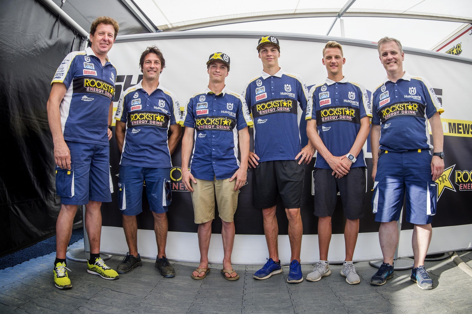 Thomas Kjer-Olsen & Thomas Covington Extend Contracts with Rockstar Energy Husqvarna
