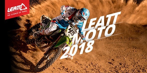 Leatt 2018 New Apparel, Helmet, Neck Brace and Knee Brace