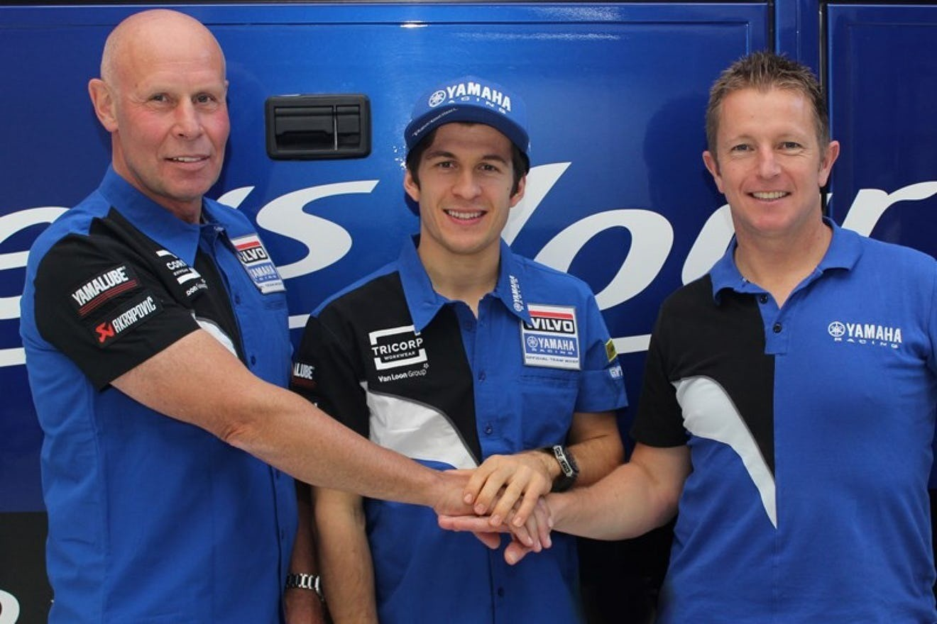 Jeremy Seewer Signs 2-Year Deal with Wilvo Yamaha