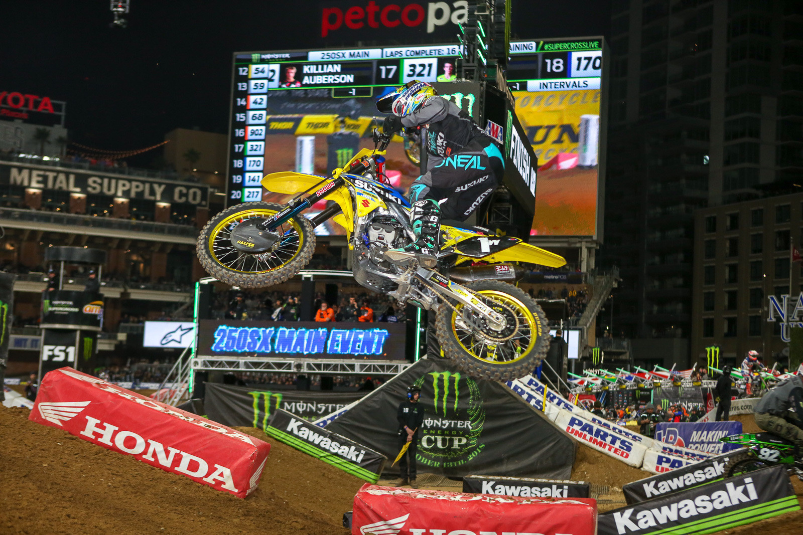 Justin Hill to Race Select Supercross Rounds on RM-Z450