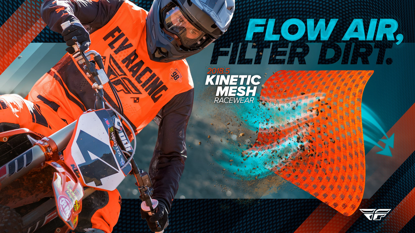 FLY Racing 2018.5 Mesh Racewear