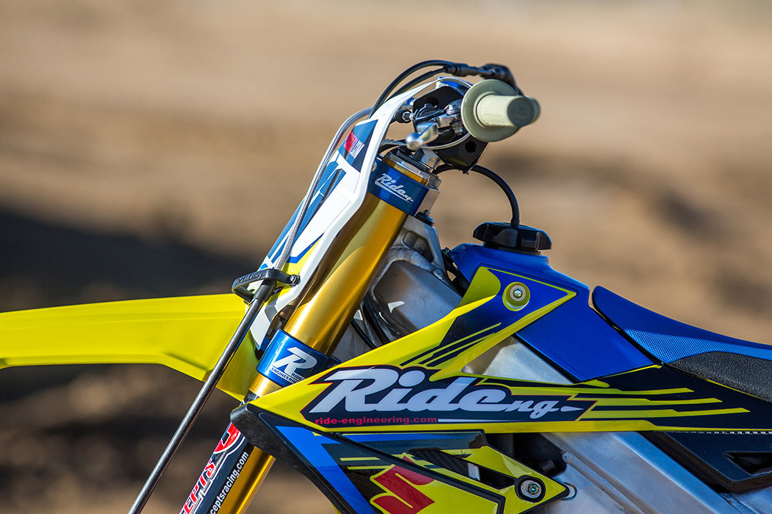 Ride Engineering 2018 RM-Z450 Bike Build and Set Up Tips