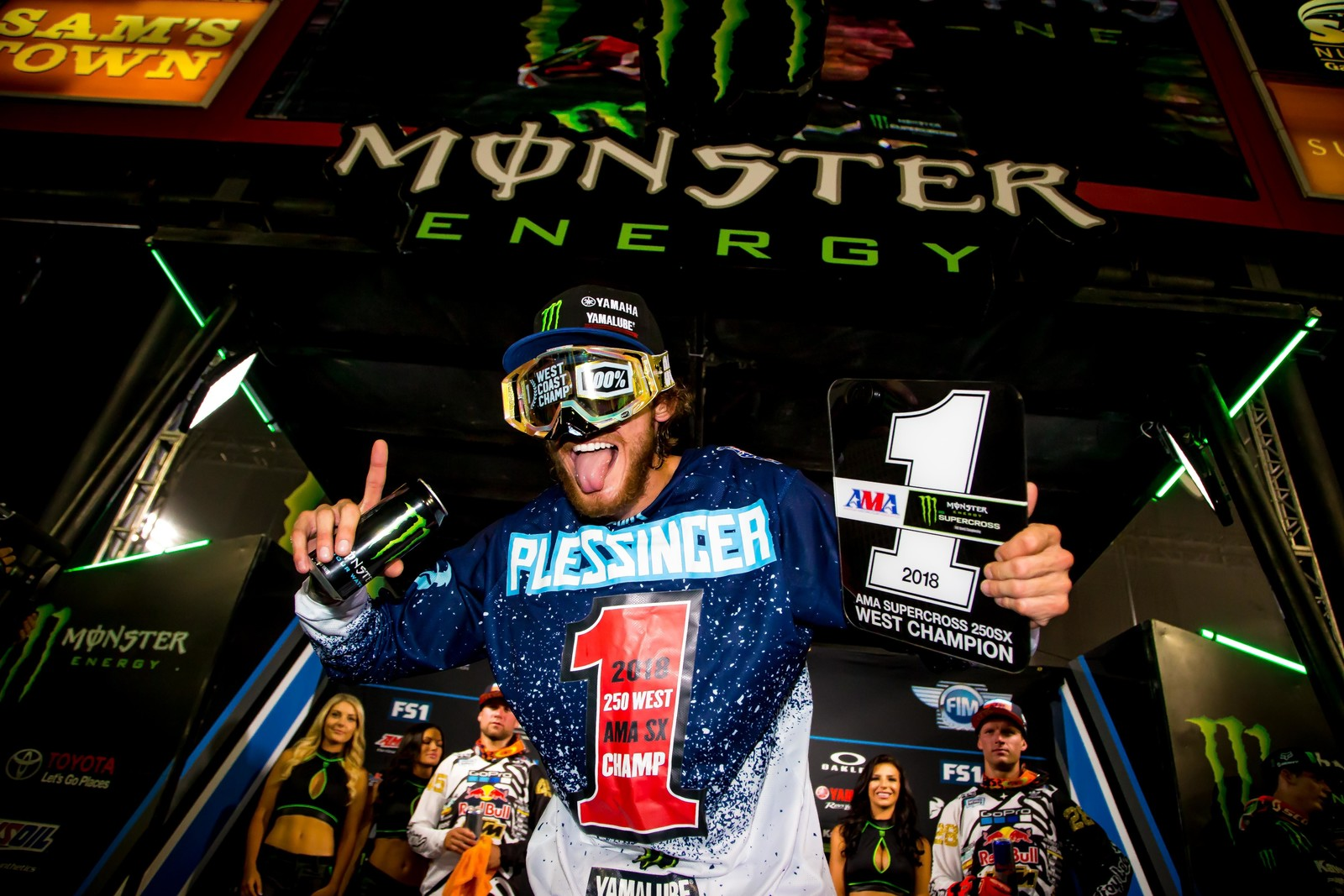 THOR's Aaron Plessinger – 250 Supercross West Coast Regional Champion
