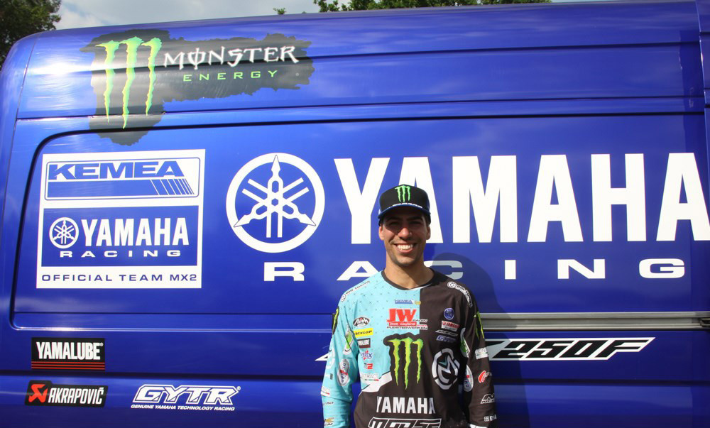 Anthony Rodriguez Signs Deal with Kemea Yamaha