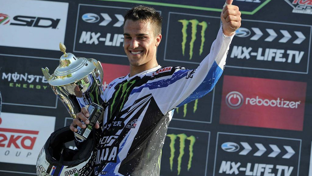 Gautier Paulin Signs with Wilvo Yamaha MXGP for 2019