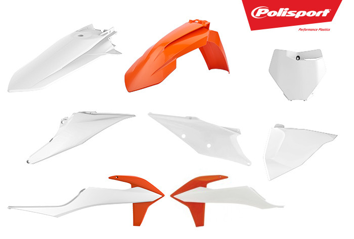 Polisport Releases New Replica and Special Plastics for 2019 KTM SX/SX-F/XC/XC-F Models