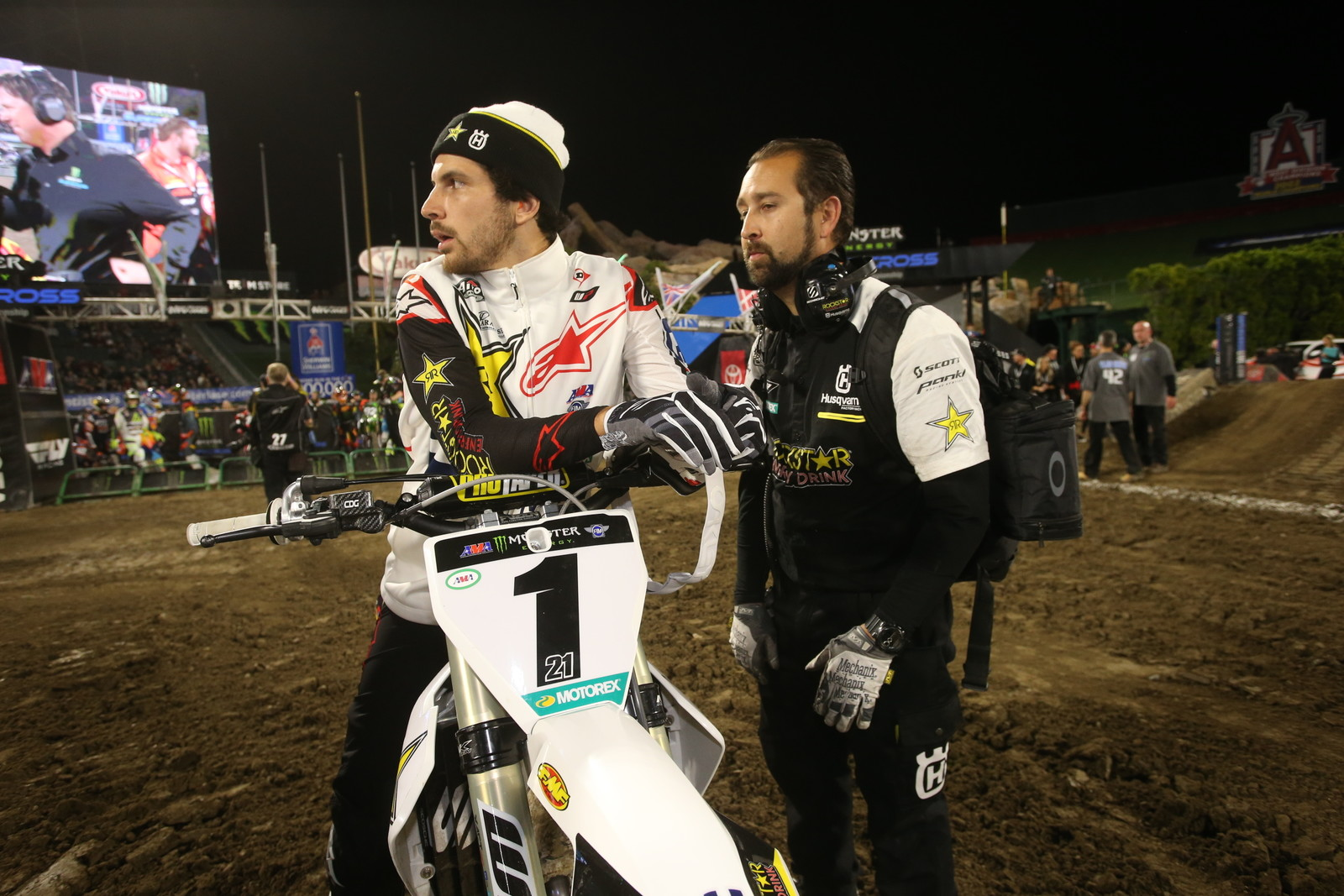 Jason Anderson Sustains Injury in Practice Crash