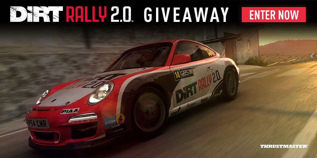 Enter the DiRT Rally 2.0 Giveaway and Win Some Sweet Prizes!