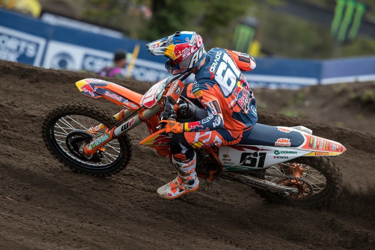 Jorge Prado to Miss MXGP of Great Britain
