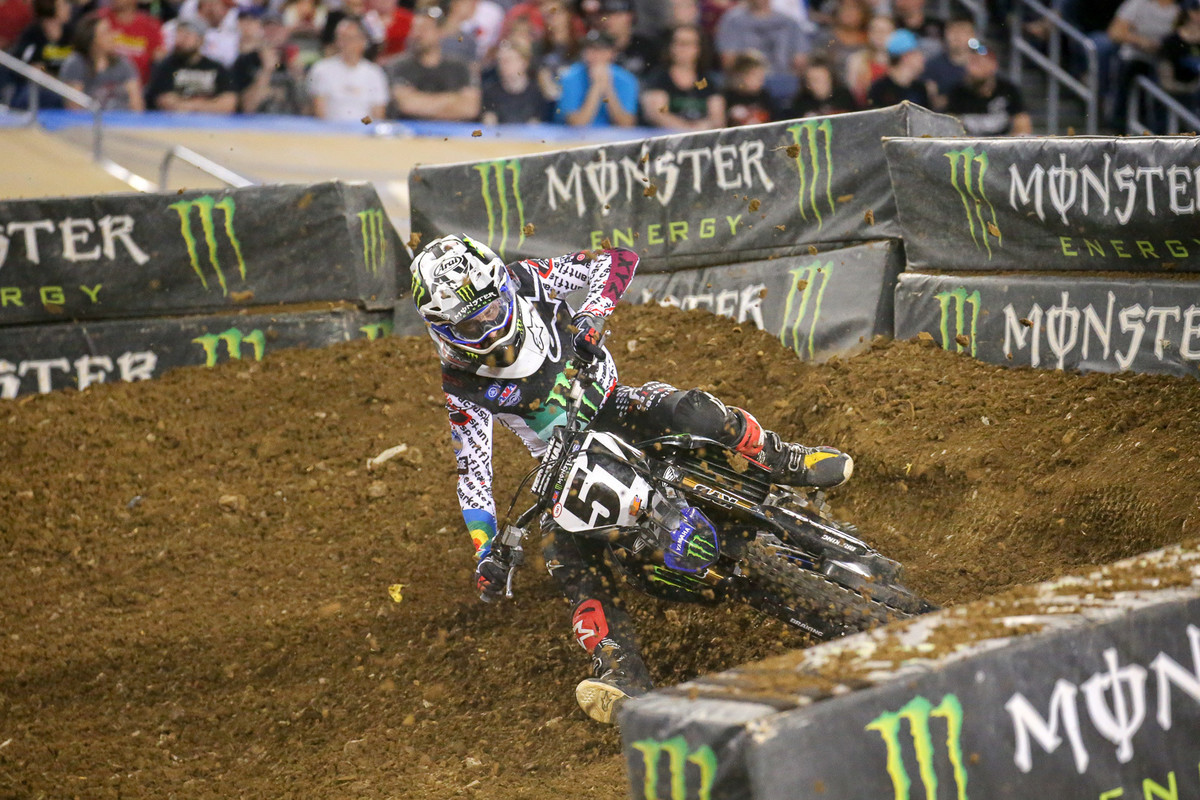 Barcia to Sit Out Remaining Three Supercross Races