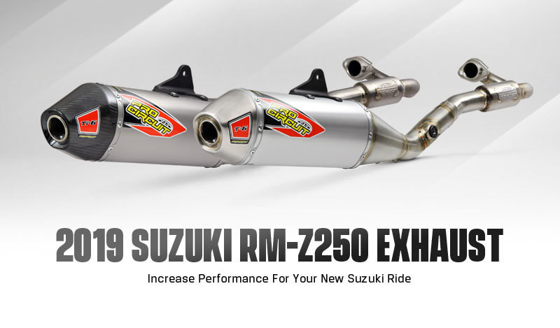New Products: Pro Circuit 2019 RM-Z250 Exhaust and Race Piston
