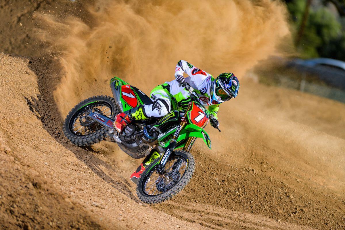 Monster Energy Kawasaki Extends Contract with Eli Tomac