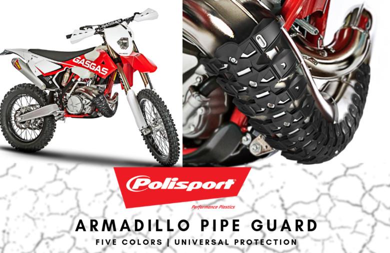 Polisport Plastics | Armadillo Pipe Guard