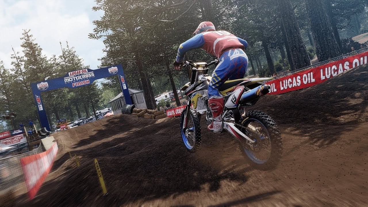 THQ Nordic and MX Sports Pro Racing Launch 2019 AMA Lucas Oil Pro Motocross Championship DLC